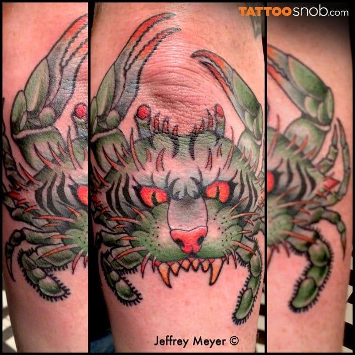 Jeffrey Meyer at Unbreakable Tattoo in Studio City, CA