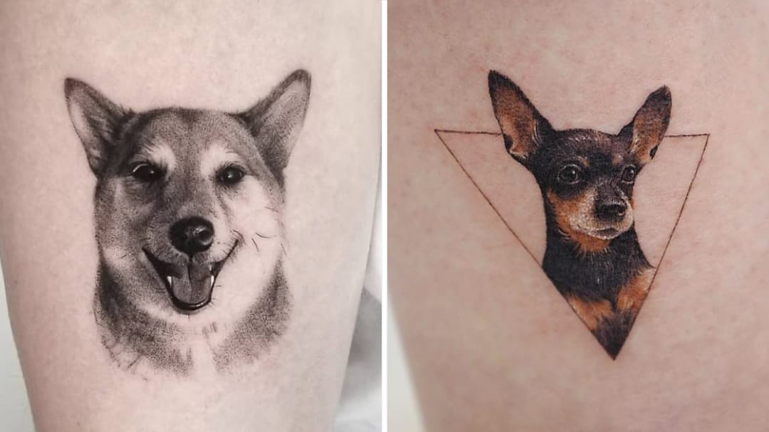 You're My Best Friend: Fantastic Dog Tattoos