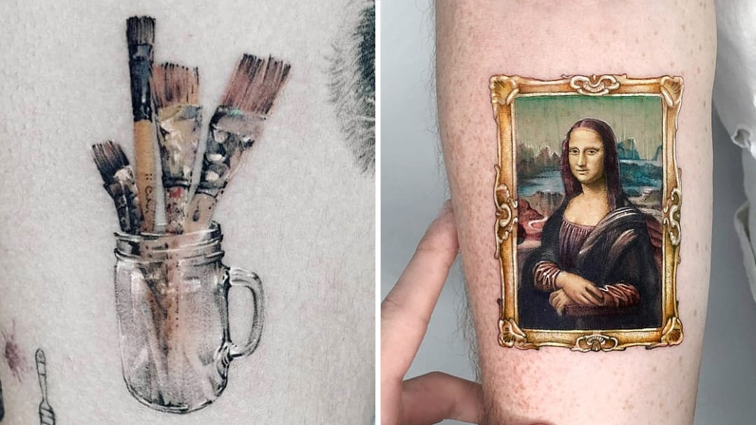 Pens, Pencils, and Paint: Tattoos For Artists of All Kinds