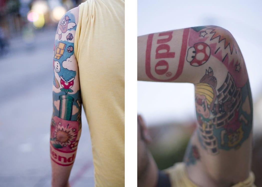 Tão fã que tatuou o logo da Nintendo (Sabe o nome do artista? Conte para a gente nos comentários)