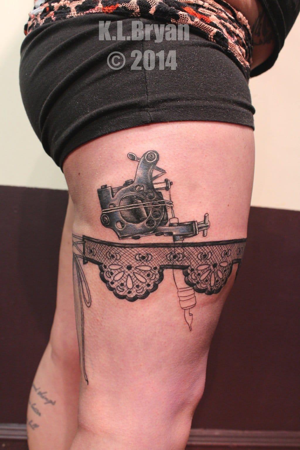 Máquina de tatuagem por DankTat