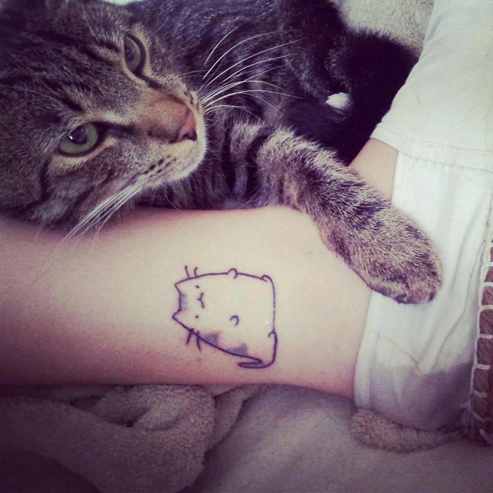 Tatuagens Fofinhas: Tão Doces Que Dão Cáries
