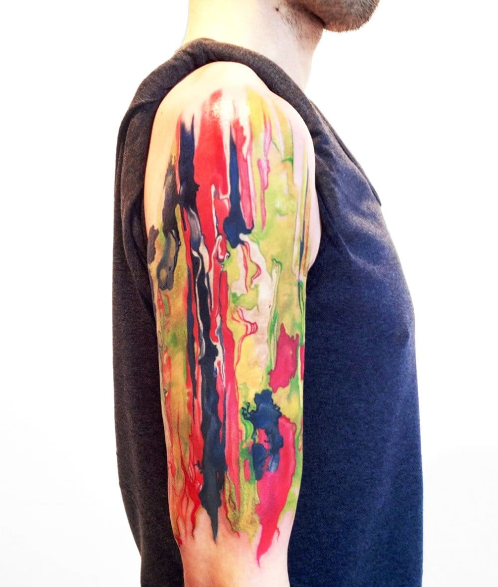 Tatuagem abstrata