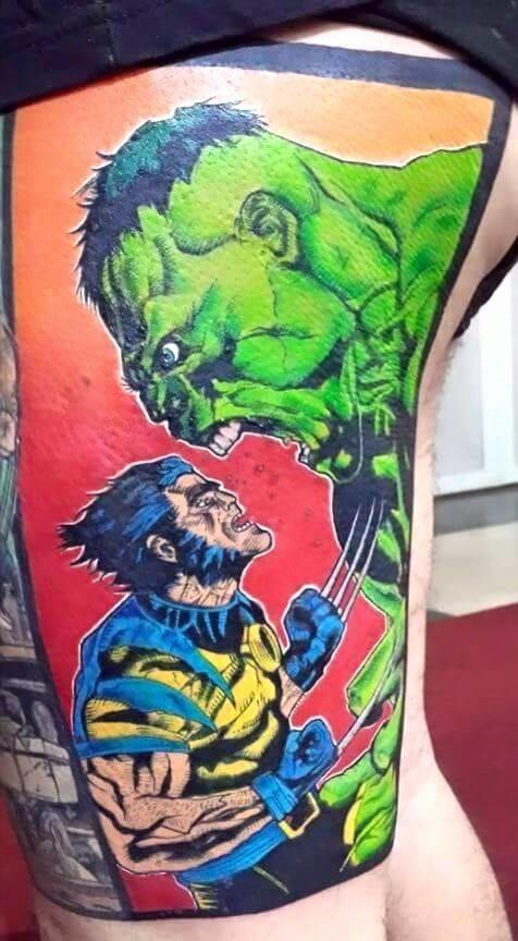 Tatuagens de Comics!