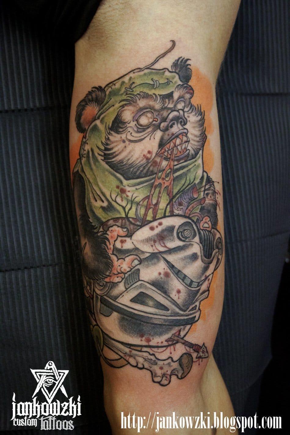 Sobrou zumbis até em Star Wars? Tatuador: Jankowzki