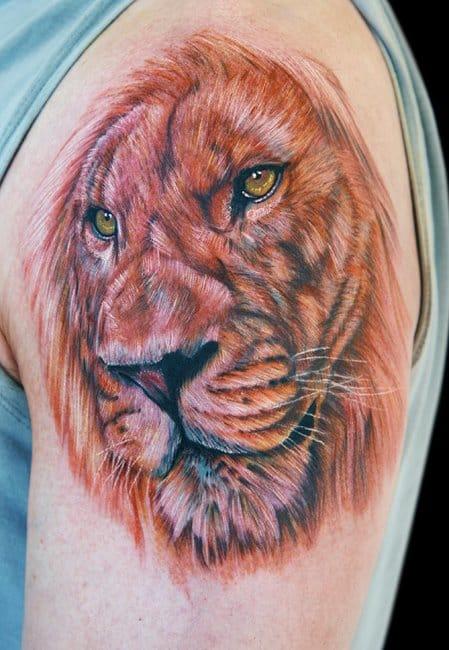Leão ao estilo de Cecil Porter