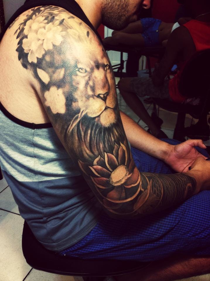 Tatuador Thiago Dias, Rio de Janeiro