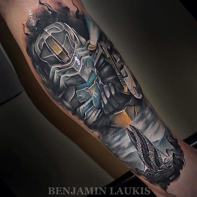 Rad Dead Space piece by Benjamin Laukis!