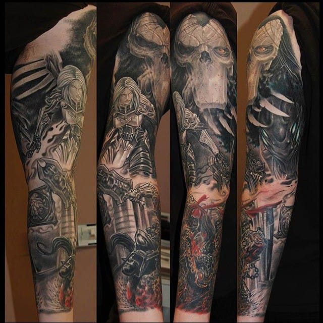 Jaw-dropping Darksiders sleeve by Cigla...
