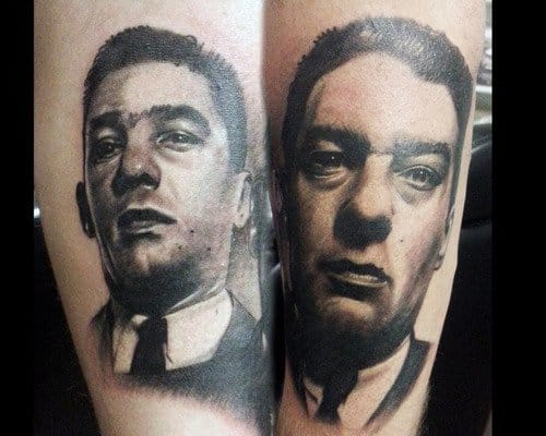 Ronnie and Reggie Kray were twin brothers and gangsters who ruled the London underworld in the 1960s
