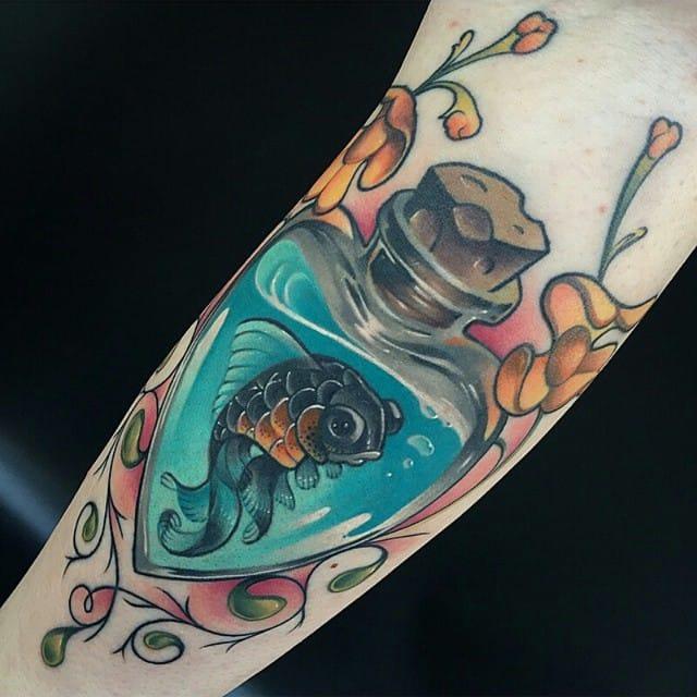16 Lovely Little Fish Tattoos