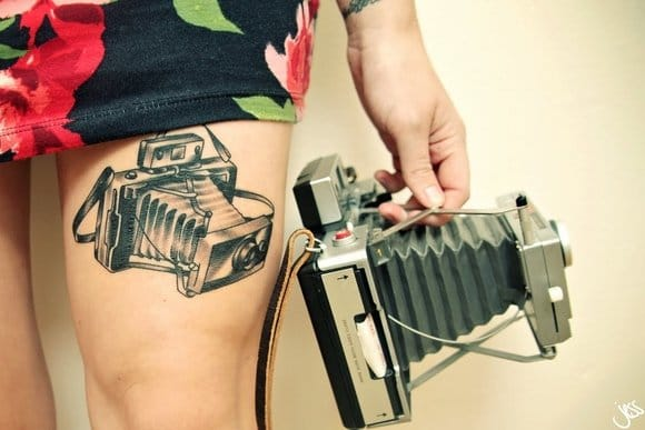 30 Camera Inspired Tattoos For Your Inner Photographer