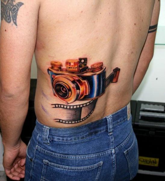 Vintage camera by Carlox Tattoo