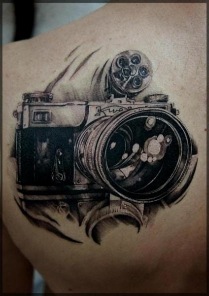 Amazing tattoo by Pavel Roch