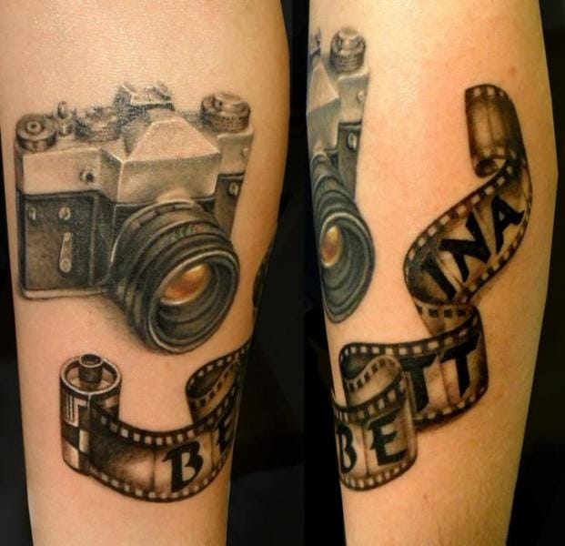 Classic camera by Style Tattoo