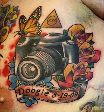 Awesome little camera, unknown artist!