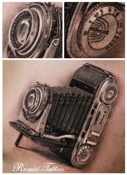 Fantastic realism by Remis Tattoo