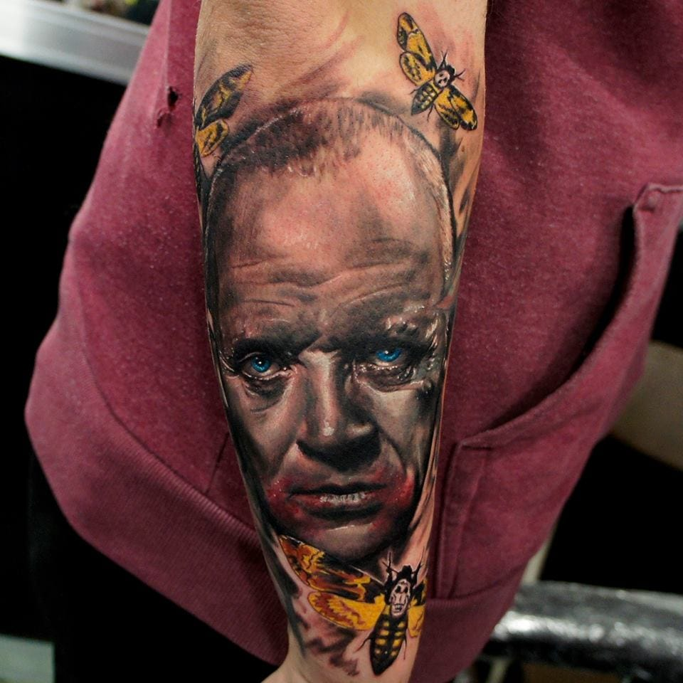 Creepy Lecter piece by Adem...