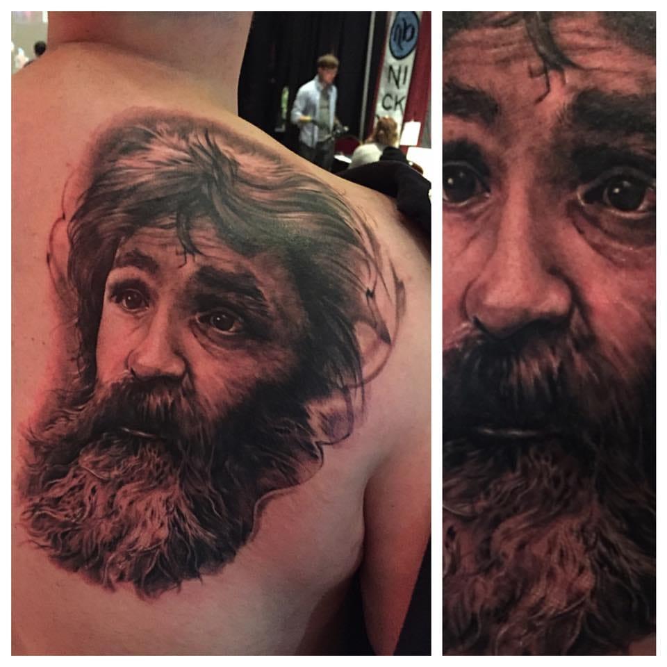 Tattoo by DJ Tambe.