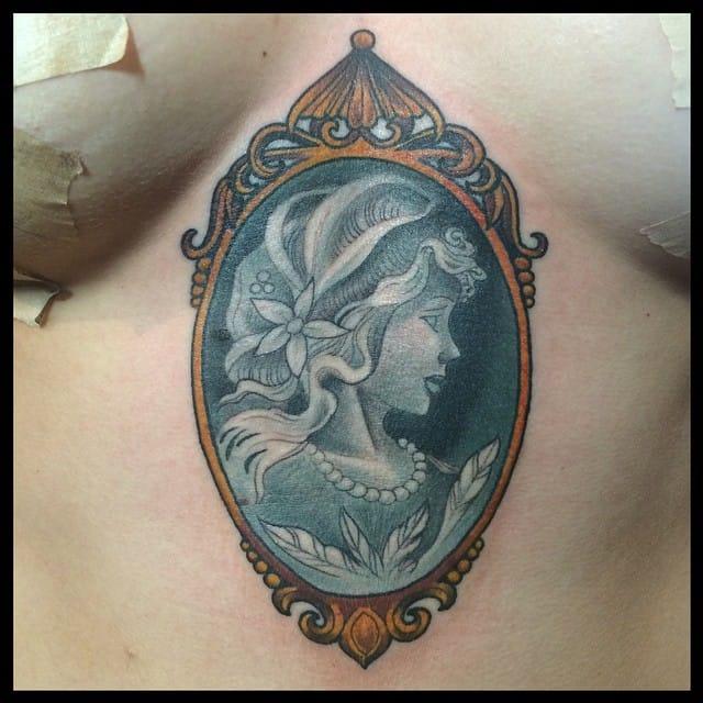 Plexus tattoo by Mark VanNess.