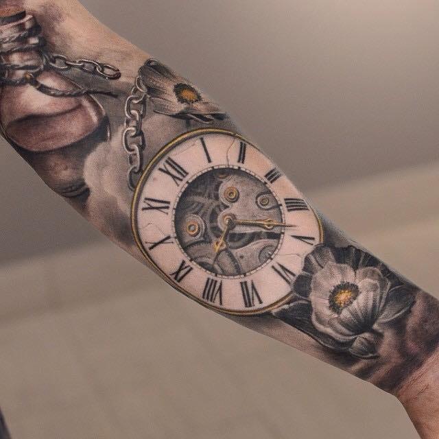 Maravilhoso relógio de Darwin Enriquez