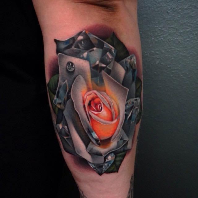 Magnífica tattoo de El Cubi