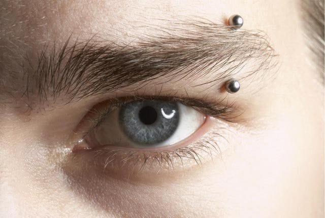 Fun Types of Eyebrow Piercings