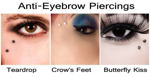 Then there are Anti-Eyebrows...which basically aren't anywhere on the eyebrows...