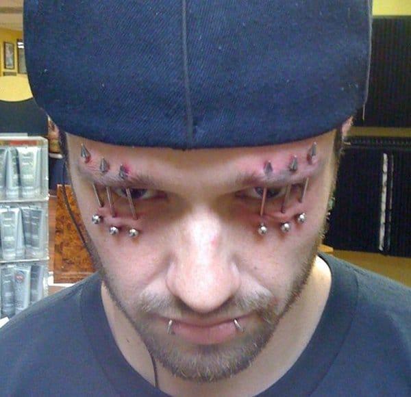 Eye-piercing
