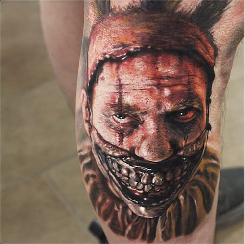 23 Morbidly Delightful American Horror Story Tattoos