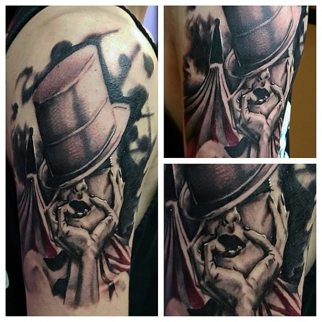 by TJ of Visions Tattoo Gallery