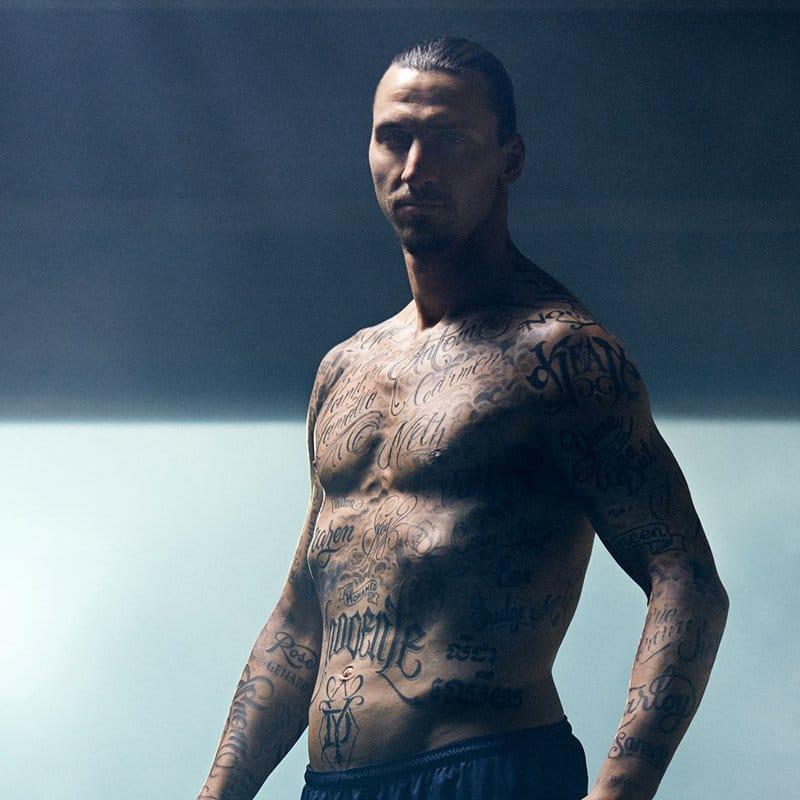 Zlatan Ibrahimovic and the Power of Tattoos!