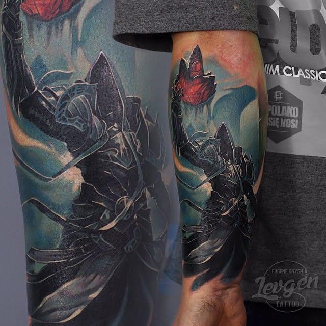 Badass Malthael from Diablo III by Eugene Knysh.
