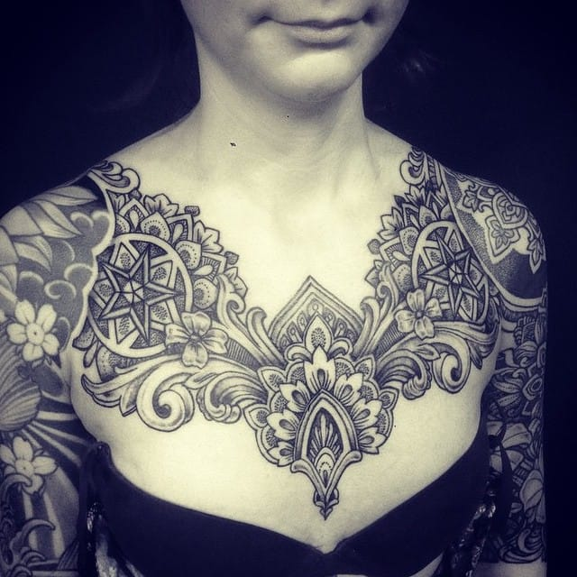 Intricate piece by Dagmar.