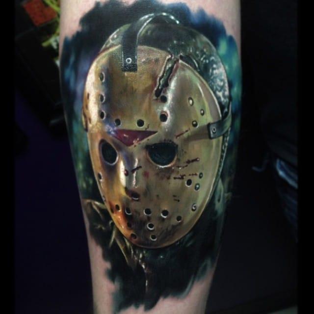 Jason Vorhees tattoo