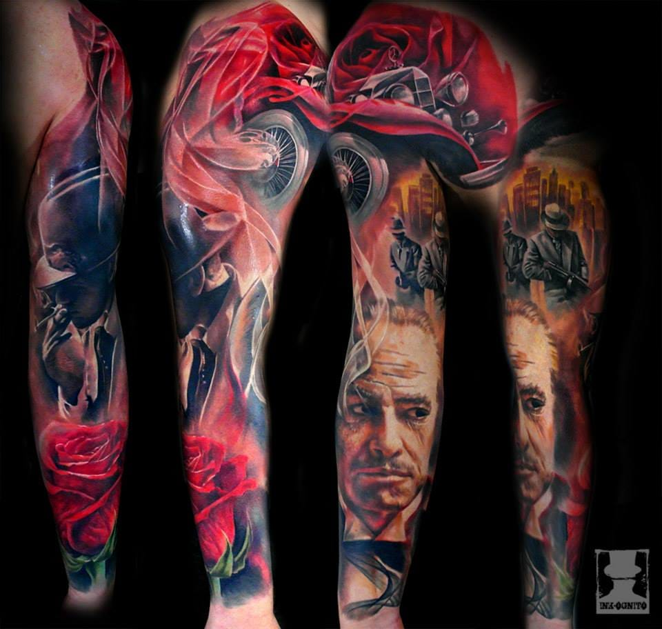 Amazing Sleeve Work by Tomasz Tofi Torfinski