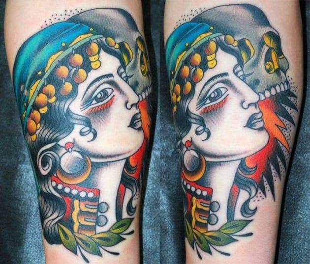 Tattoo done by Miss Arianna, Skinwear Tattoo.