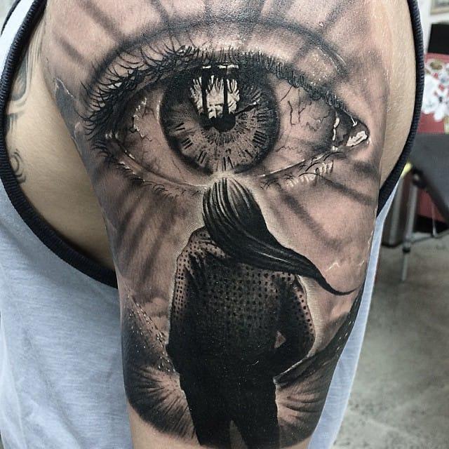 16 Mind-Blowing Realistic Eye Tattoos