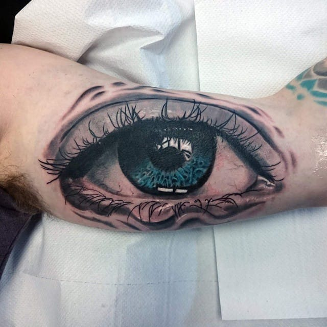 My arm is watching you! By Lee Reynolds.