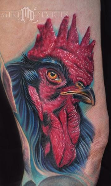 Tattoo by Mike Devries