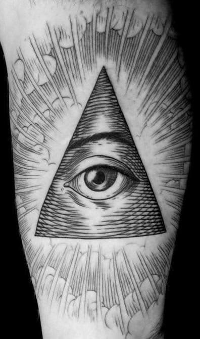 Illuminati Triangle Tattoo 20 Bewildering ...