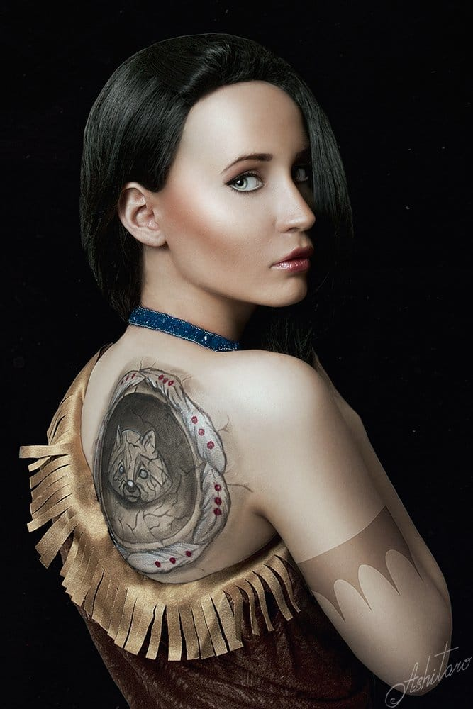 Tattooed Disney Characters in Real Life by Ashitaro