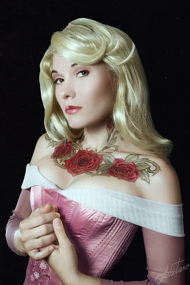 rose tattooed princess