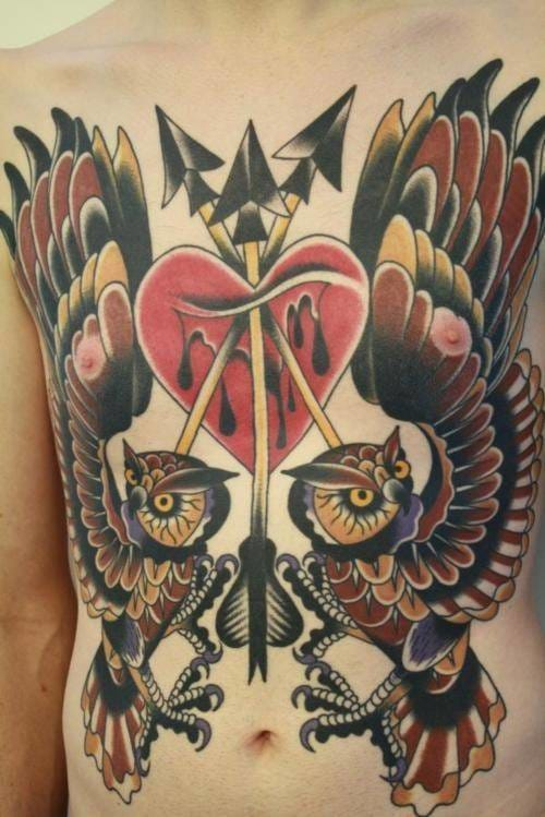 30 Beautiful Owl Tattoos With Facts And Meanings