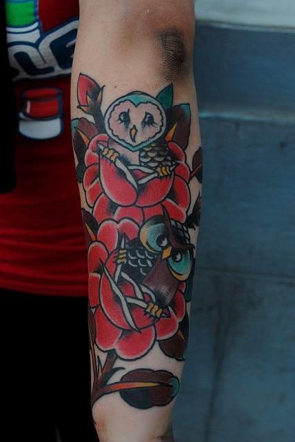 Cute tattoo by Adrian One, Better Days Tattoo