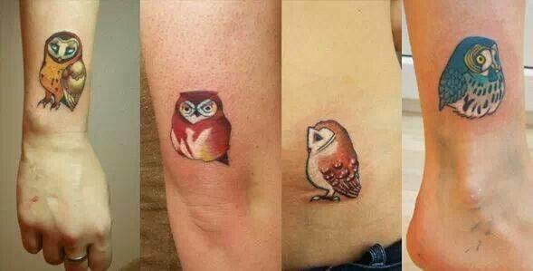 Minimalistic tattoos by Sasha Unisex