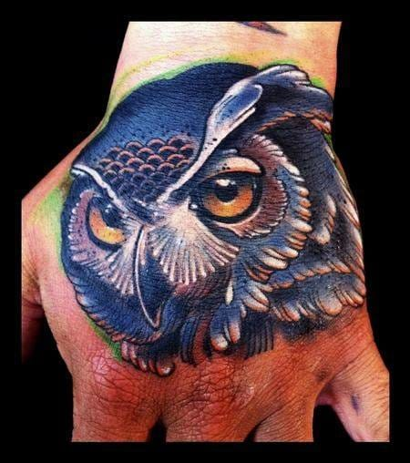 30 Beautiful Owl Tattoos With Facts And Meanings | Tattoodo