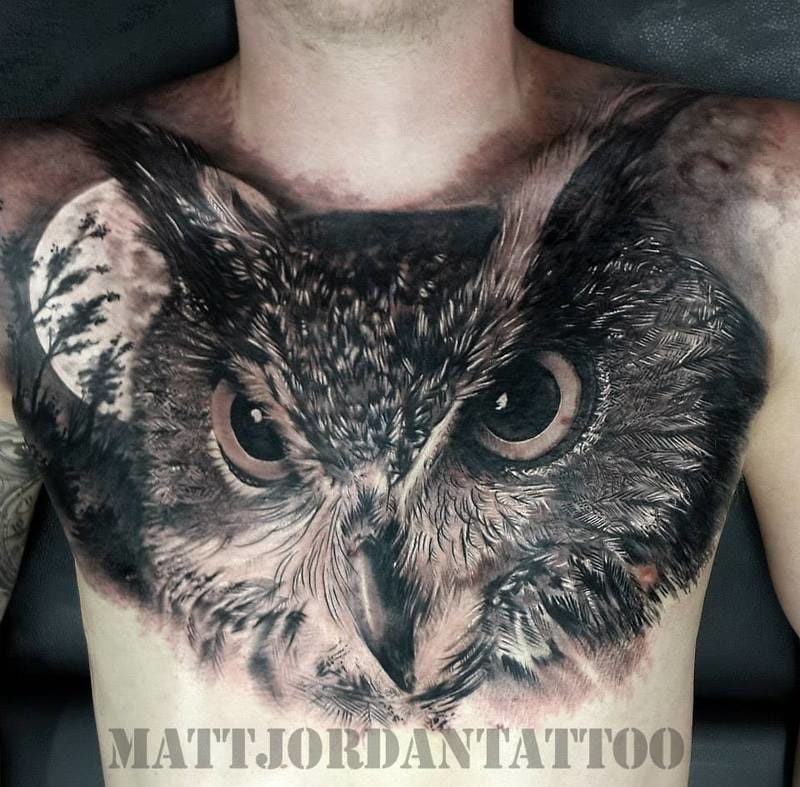 Tattoo by Matt Jordan