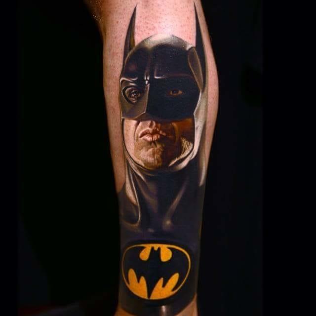 Meu Deus! O Batman interpretado por Michael Keaton feito pelo insanamente talentoso Nikko Hurtado. Simplesmente inconfundível!