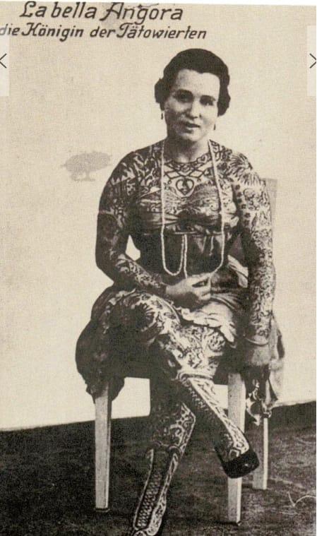 La Bella Agnora, German circus performer